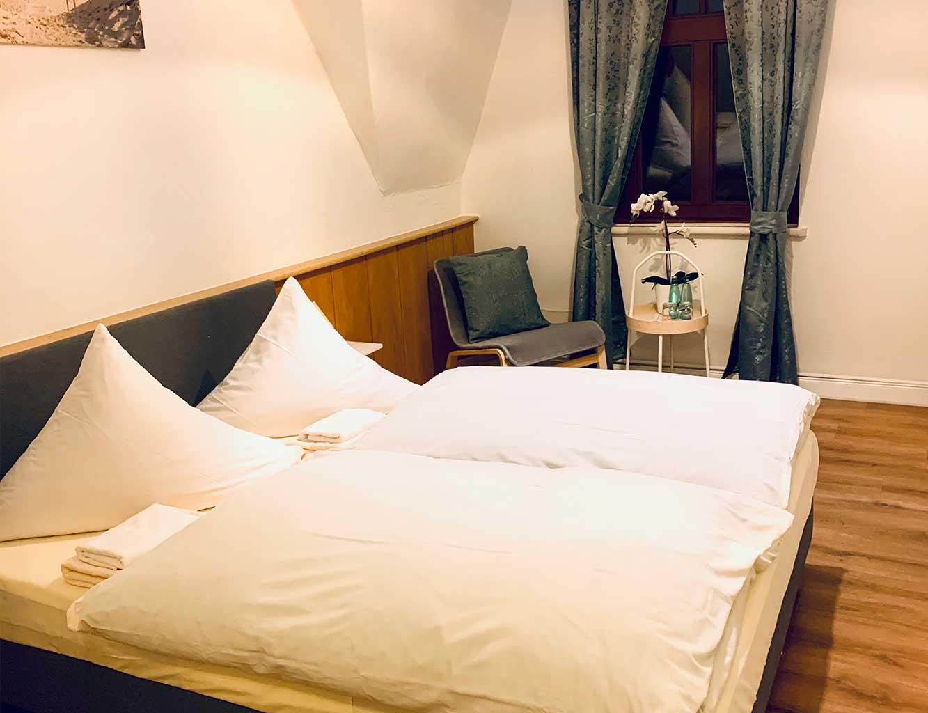 Hotel-Fährhaus-Kirschenland-Doppelzimmer