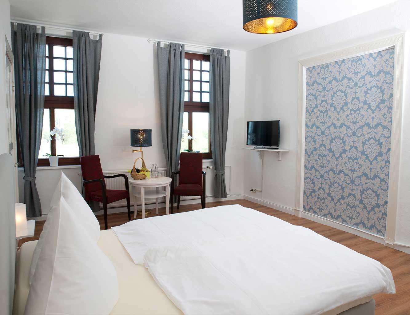 Hotel-Fährhaus-Kirschenland-Familienzimmer