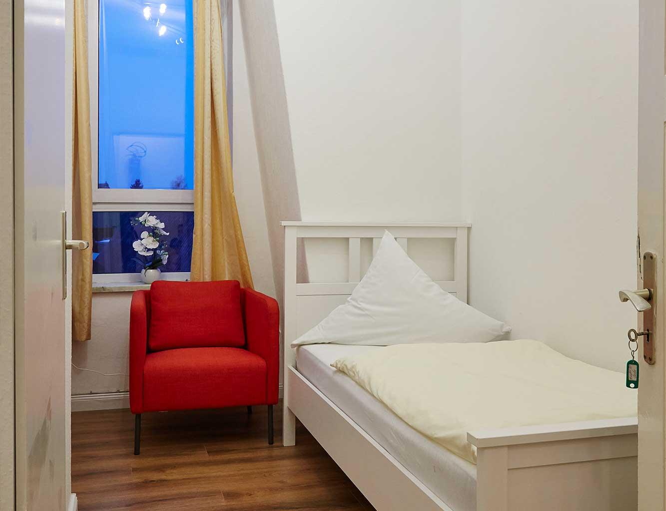 Hotel-Fährhaus-Kirschenland-Schlafstube